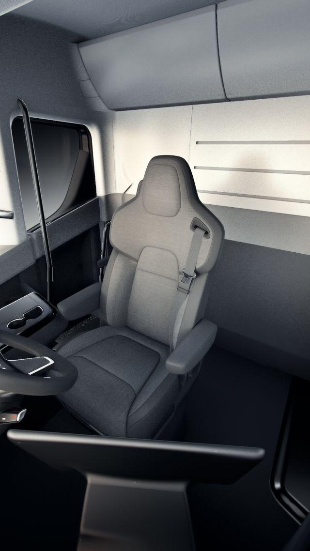 Tesla Semi Truck Interior Cabinets Matttroy