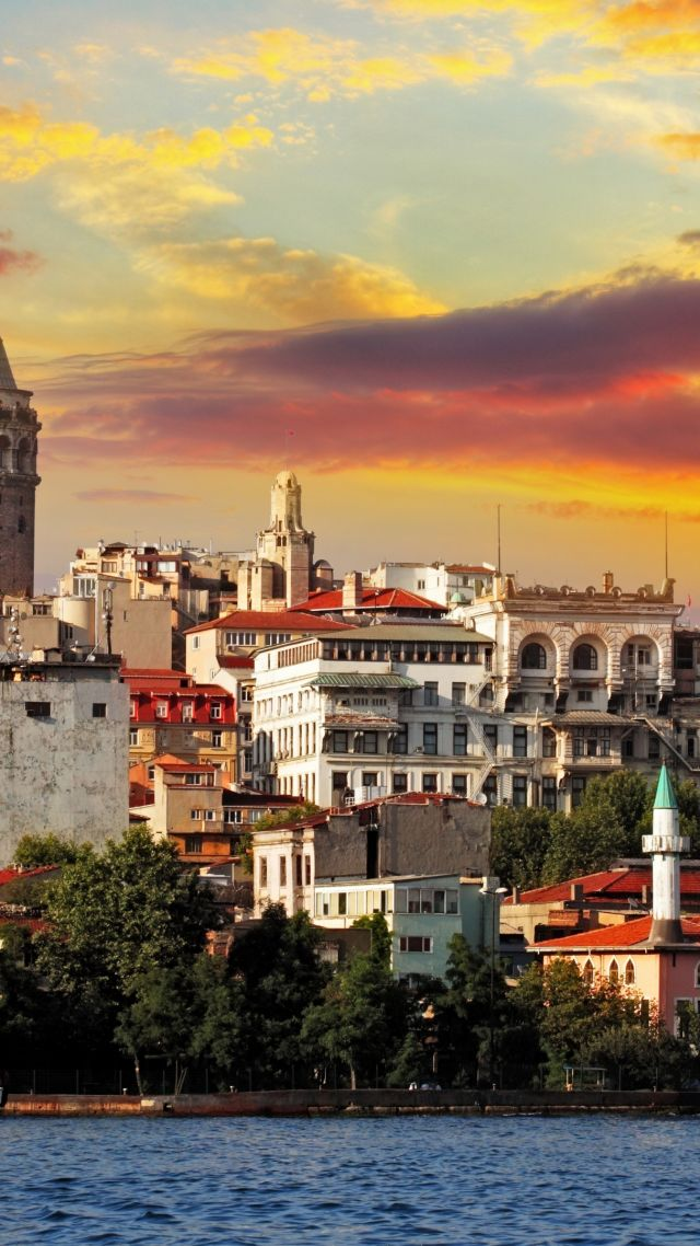 Wallpaper Turkey Istanbul Sea Sunrise 4k Travel 16656