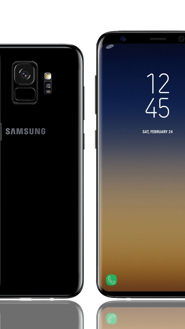 ... Samsung Galaxy S9, 4k (vertical)