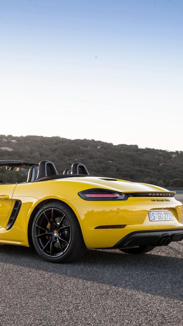 ... Porsche 718 Boxster Gts, 2018 Cars, 4k (vertical)