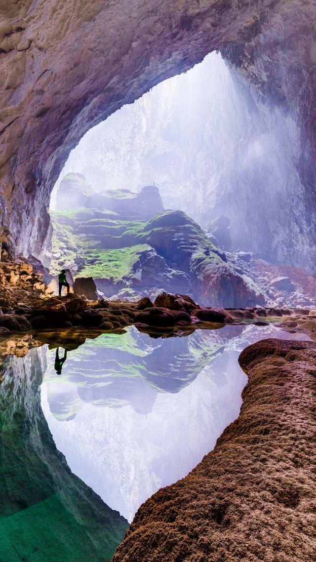 Wallpaper Son Doong Vietnam Cave 4k Nature 16681