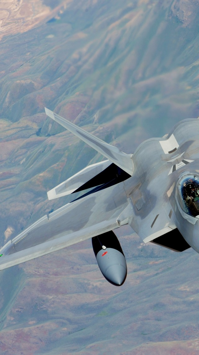 F 22 Raptor Lockheed Martin Stealth Air Superiority Fighter