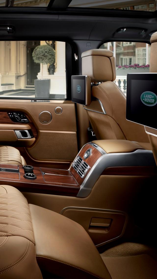 Wallpaper Range Rover Svautobiography Interior 2018 Cars