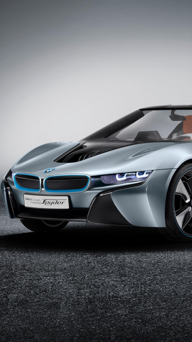 BMW i8 Roadster, 2018 Cars, 4k (vertical)