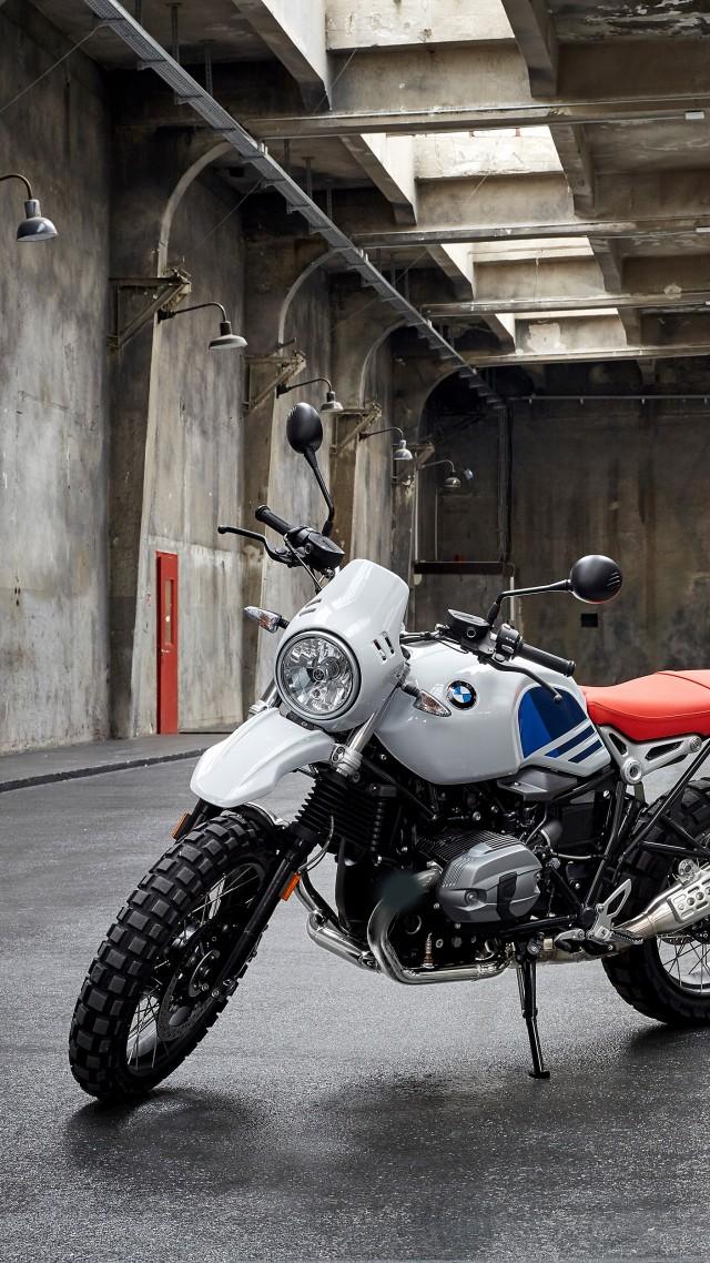 BMW R NineT Urban GS 2018 Bikes 4k Vertical