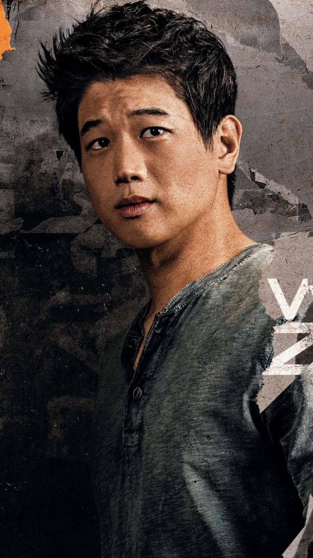 Maze Runner: The Death Cure, Ki Hong Lee, 4k (vertical)