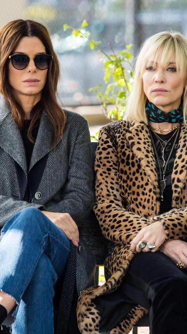 Wallpaper Ocean S 8 Sandra Bullock Cate Blanchett 4k Movies 16961