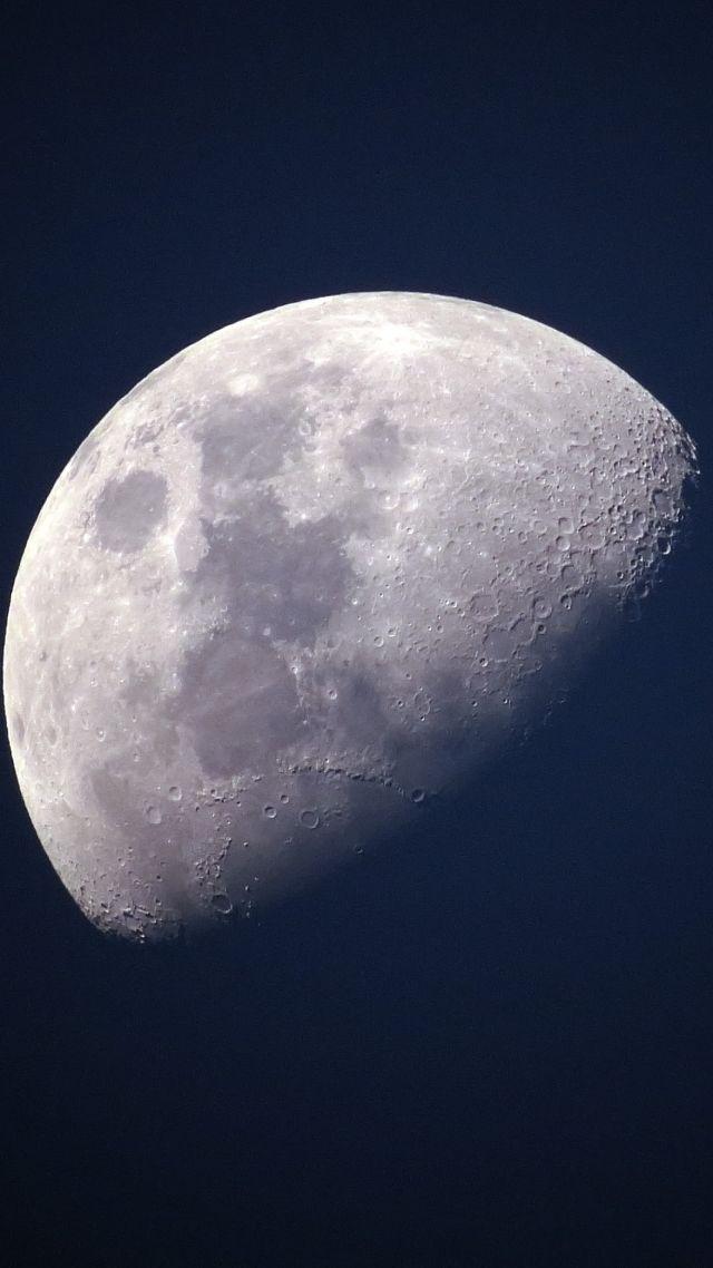 Wallpaper Moon Planet 4k Space 17035