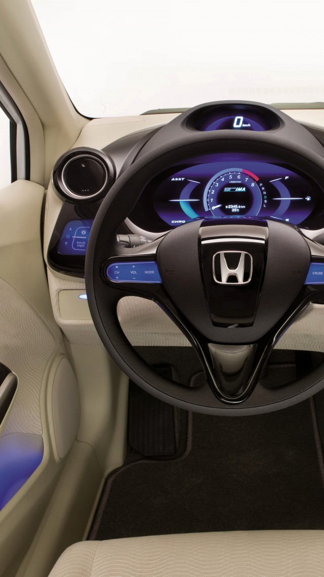 wallpaper honda insight concept interior 4k cars bikes 17143. Black Bedroom Furniture Sets. Home Design Ideas