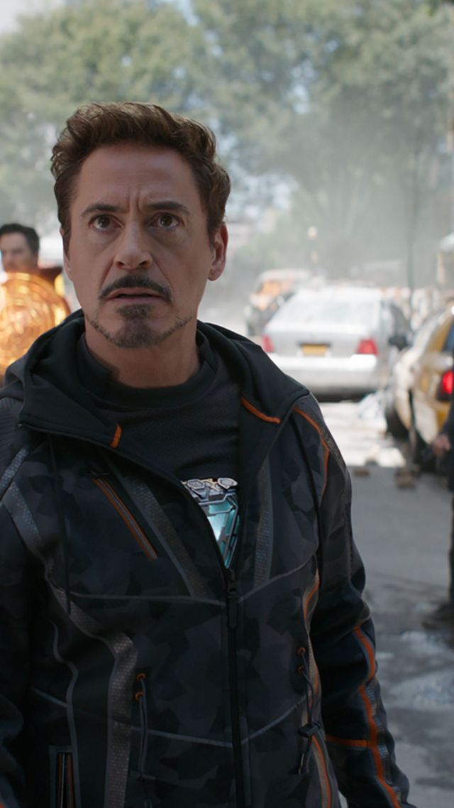 Wallpaper Avengers Infinity War Robert Downey Jr Iron Man Tony