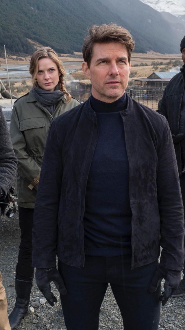 Wallpaper Mission Impossible Fallout Tom Cruise Ving Rhames Rebecca Ferguson Simon Pegg 4k Movies 17168