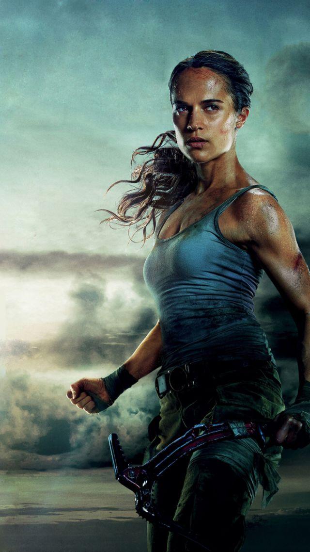 Wallpaper Lara Croft Tomb Raider Alicia Vikander 4k