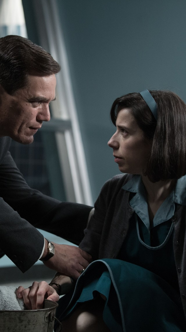 The Shape of Water, Sally Hawkins, Michael Shannon, 5k (vertical)