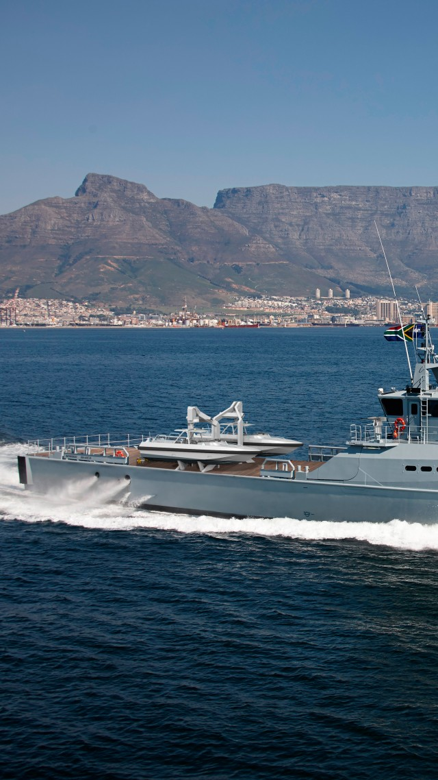 FCS 5009 Patrol Vessel DSCT South Africa High Speed