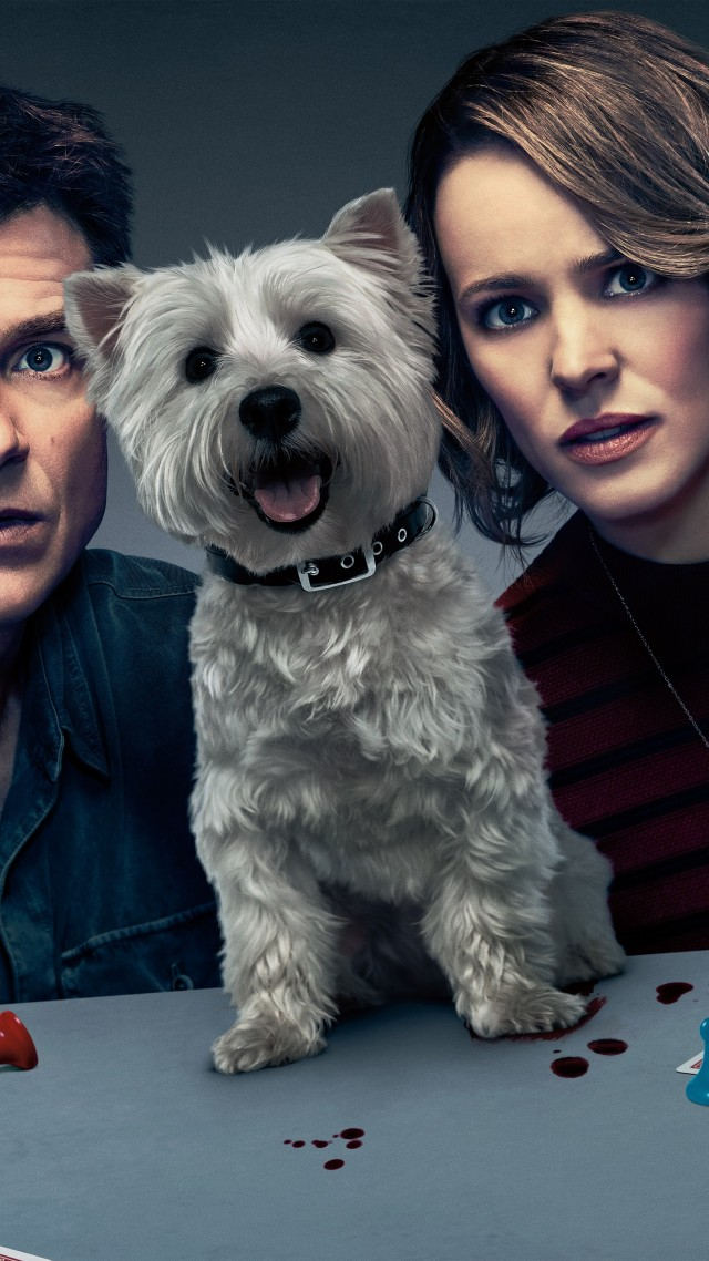 Wallpaper Game Night Jason Bateman Rachel Mcadams Dog 5k