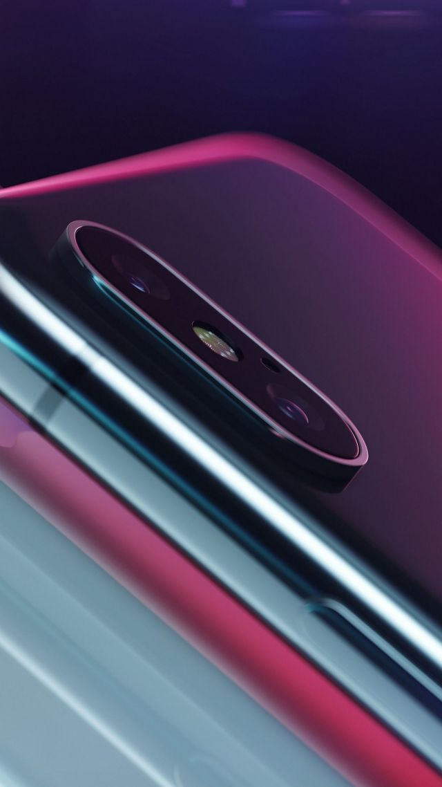 ... iPhone X, 4k, 3D (vertical)