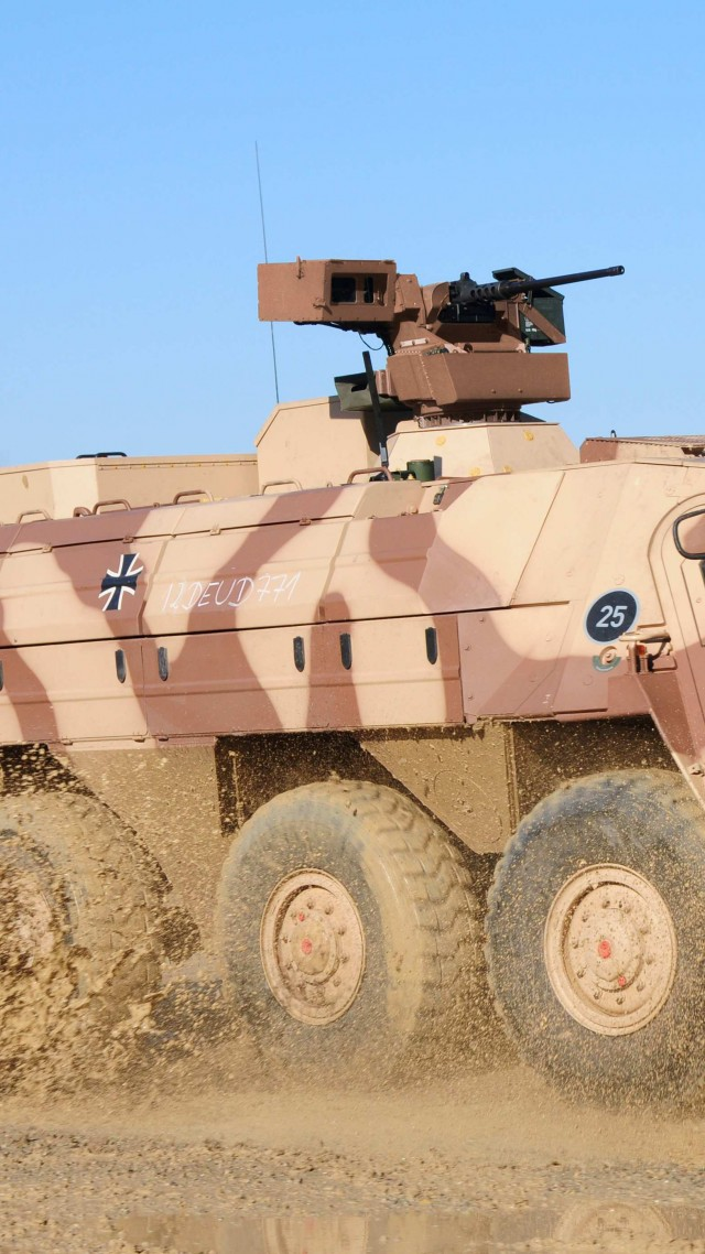 TPz, Fuchs, armoured personnel carrier, APC, M93, Fox, Bundeswehr (vertical)