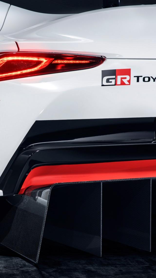 Wallpaper Toyota Gr Supra Racing Concept Geneva Motor Show 2018 4k