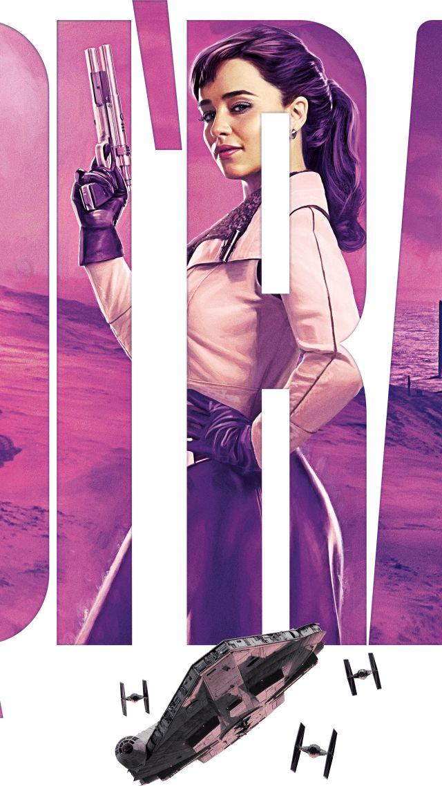Wallpaper Solo A Star Wars Story Emilia Clarke 8k Movies 17717