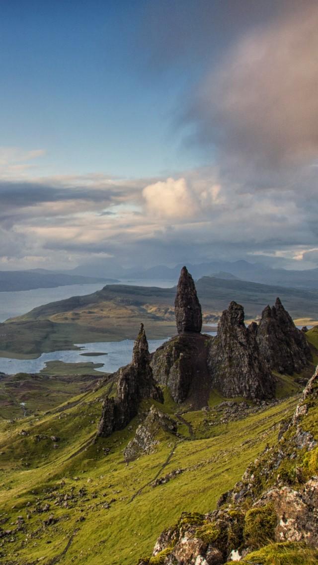 Wallpaper Isle Of Skye Scotland Europe Nature Mountains Sky 4k