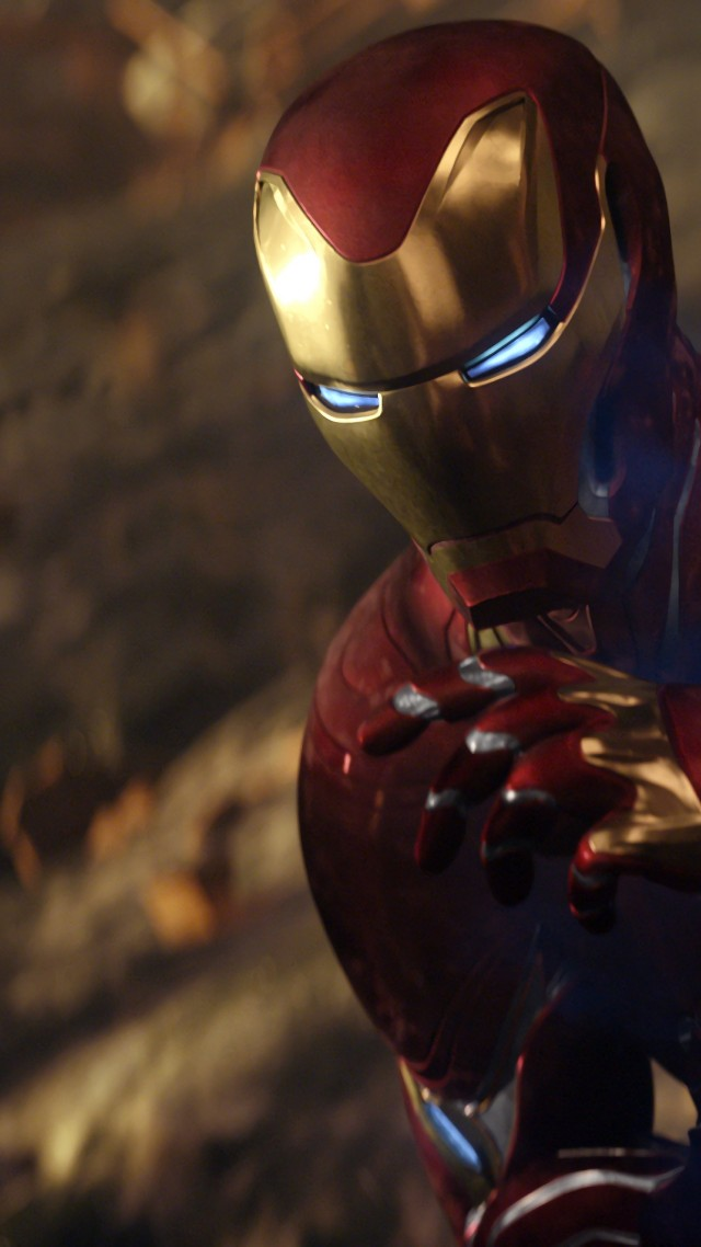 Avengers Infinity War Iron Man 4k Vertical