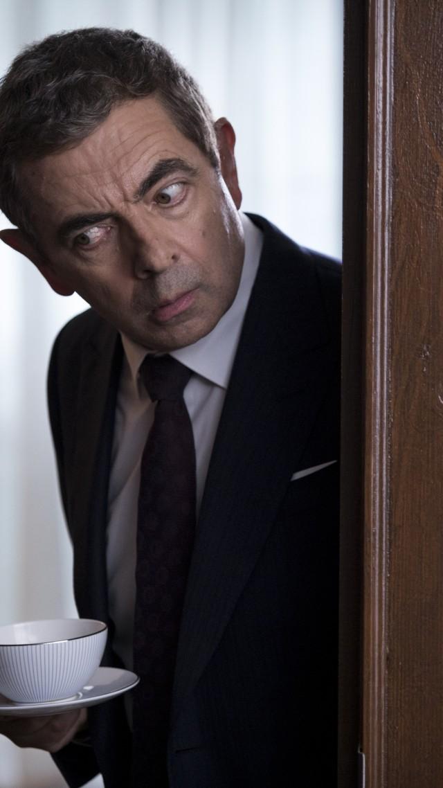 Wallpaper Johnny English Strikes Again Rowan Atkinson 4k