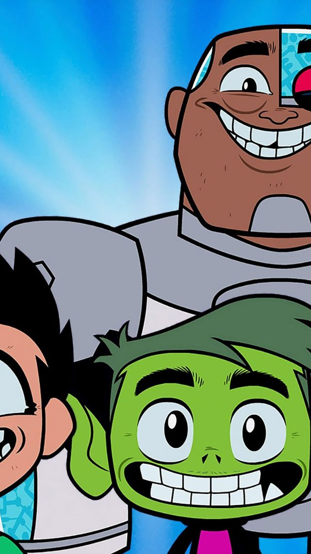 ... Teen Titans Go! To the Movies, 4k (vertical)