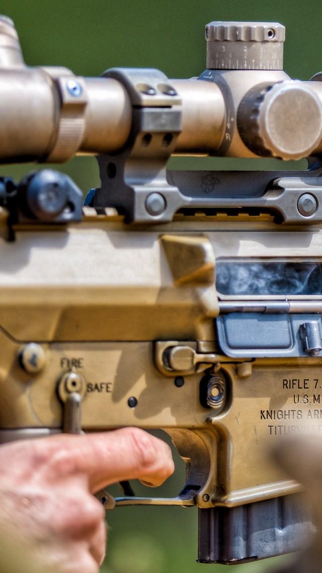 SR 25 Stoner Rifle Sniper 762x51mm NATO