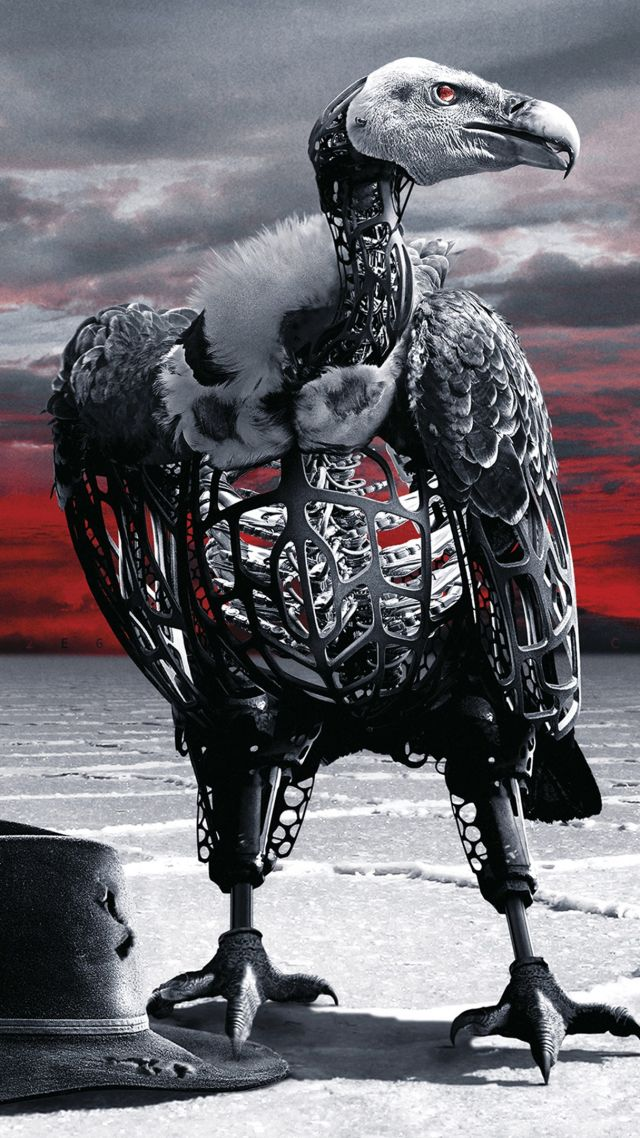 Westworld Season 2, Eagle, TV Series, 4K (vertical)