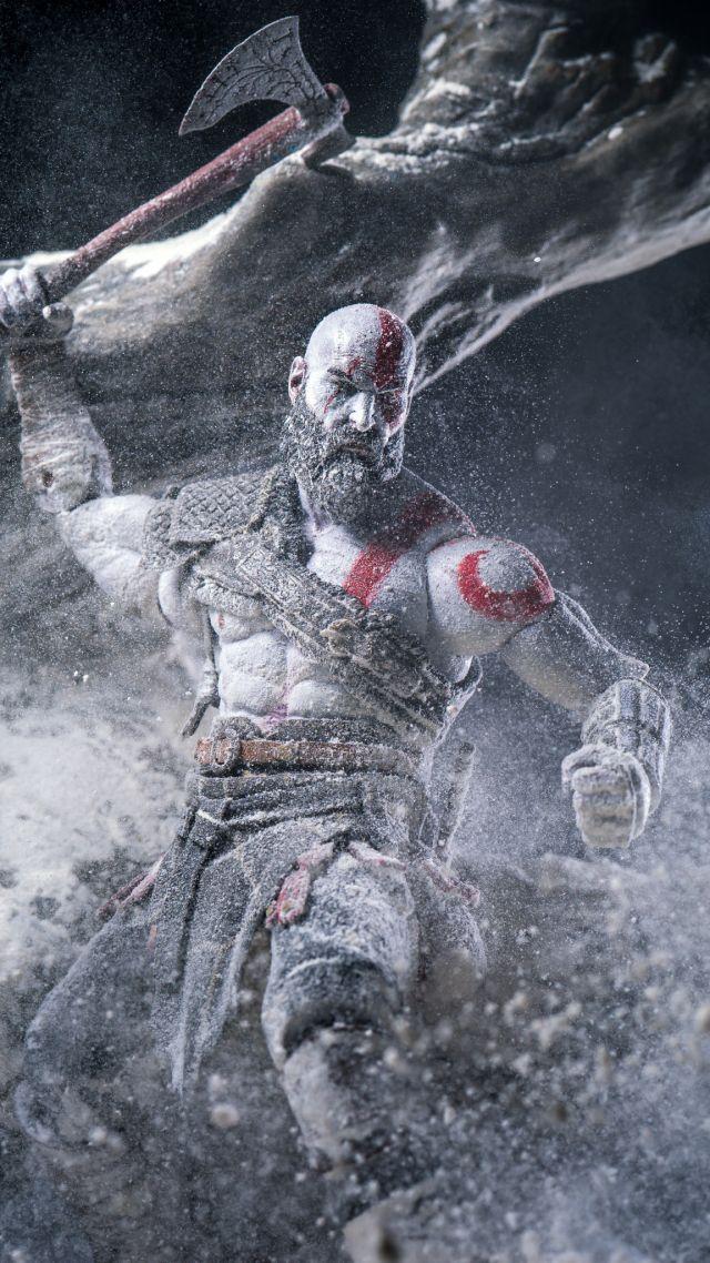 Wallpaper God Of War Anger Kratos Screenshot 4k Games