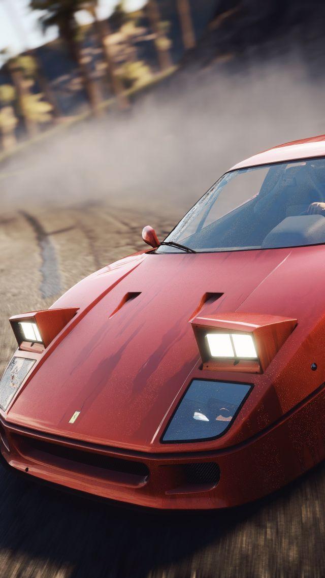Wallpaper Need For Speed Rivals Ferrari F40 4k 8k Games 18106