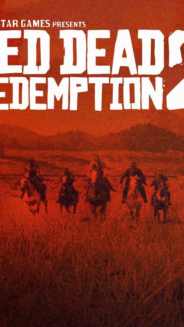 Wallpaper Red Dead Redemption 2 Poster 4k Games 18211