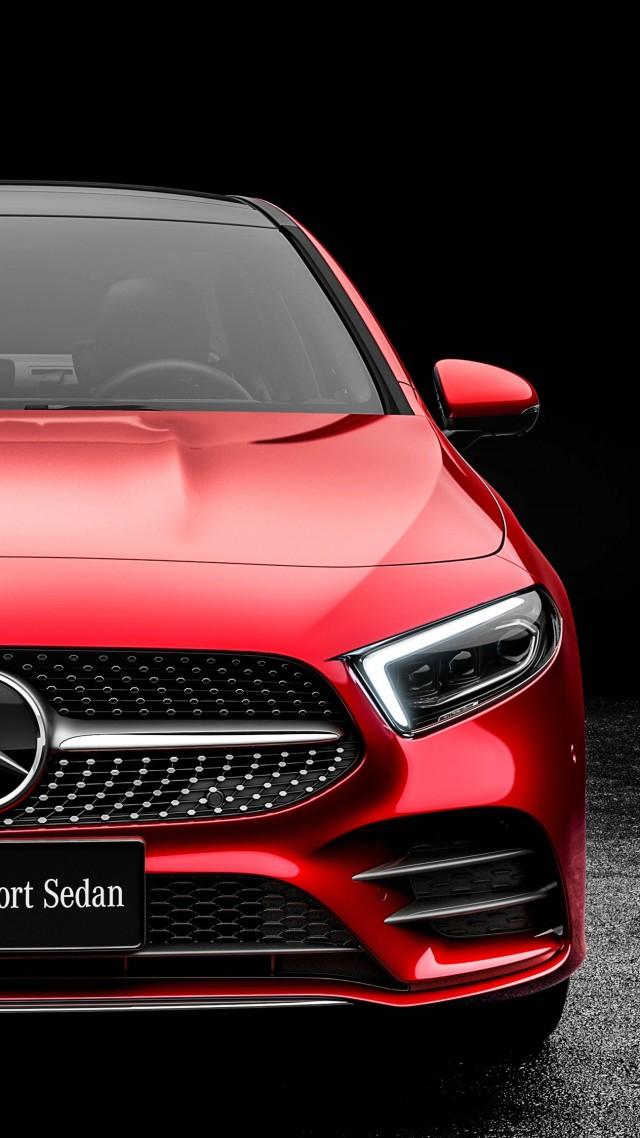 Wallpaper Mercedes Benz A Class L Sedan 2019 Cars 4k Cars