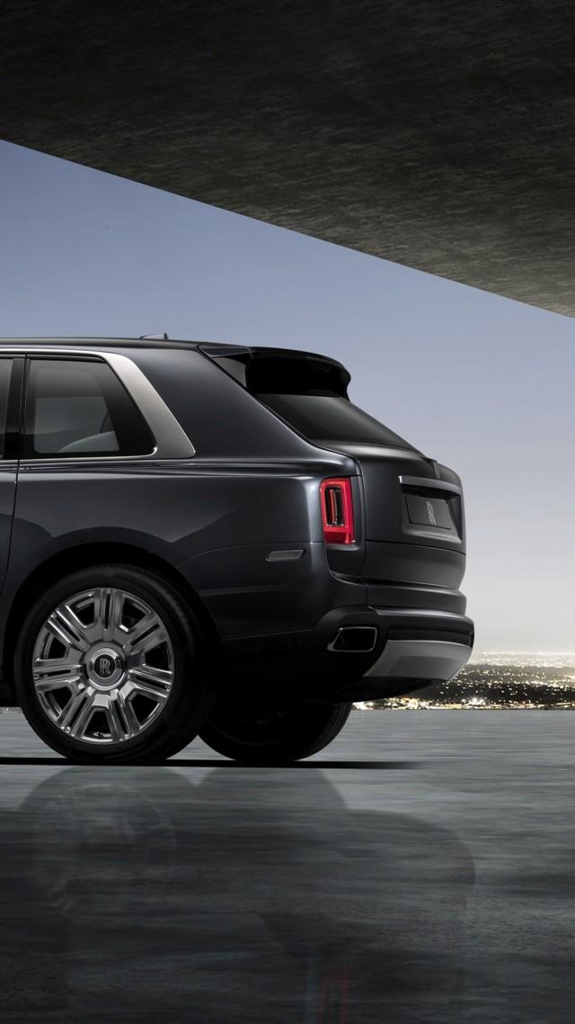 Wallpaper Rolls Royce Cullinan 2019 Cars Suv 4k Cars