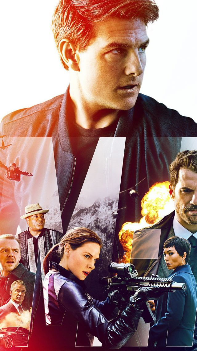 Wallpaper Mission Impossible Fallout Poster Tom Cruise