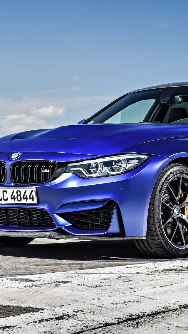 BMW M3 CS Special-Edition, Cars 2018, 4K (vertical)