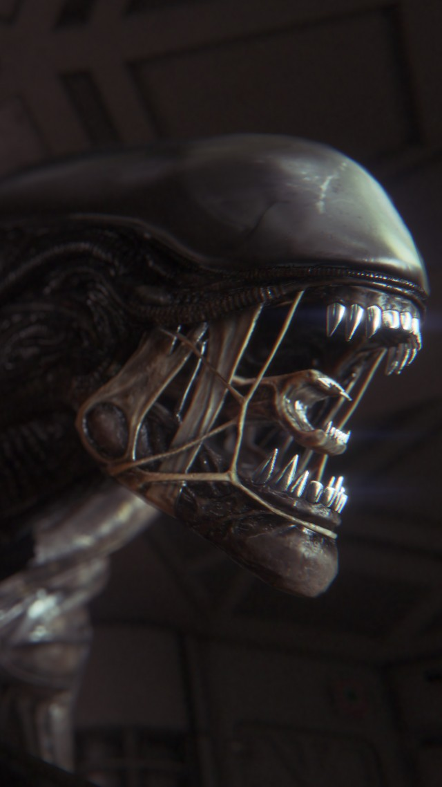 wallpaper alien isolation game survival horror alien creature