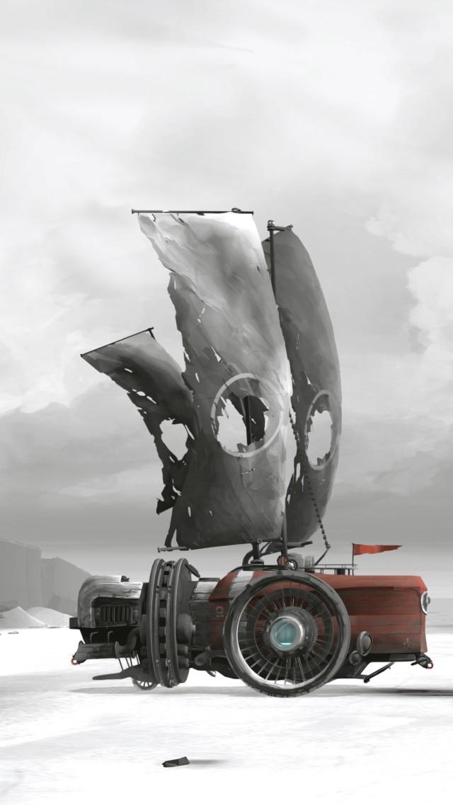 Wallpaper FAR Lone Sails Screenshot Poster 4K Games 18391