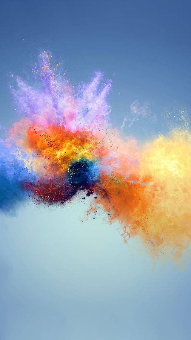 Wallpaper Colors Splash 4k Abstract 18458