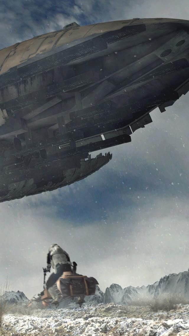 Wallpaper Scout Trooper Spaceship Star Wars 4k 5k Art 18495 Page 3