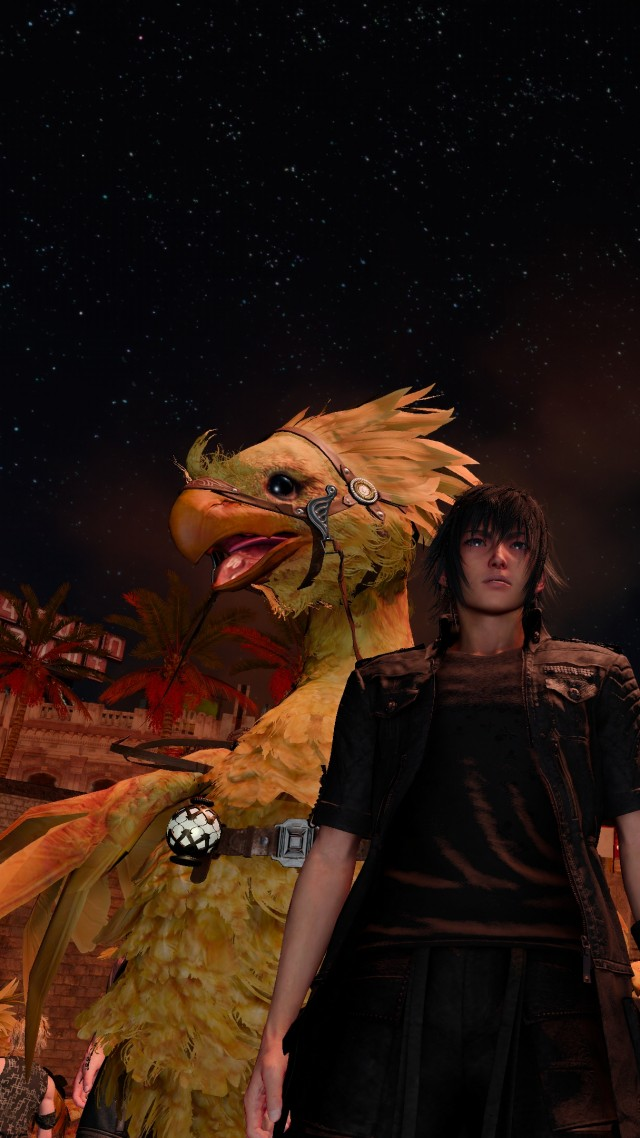 Final Fantasy XV Windows Edition, screenshot, 4K (vertical)