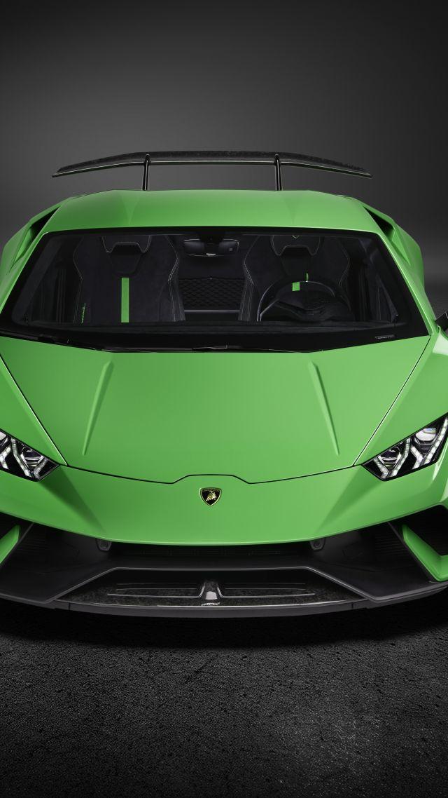 Wallpaper Lamborghini Huracan Performante, 2018 Cars, 7K