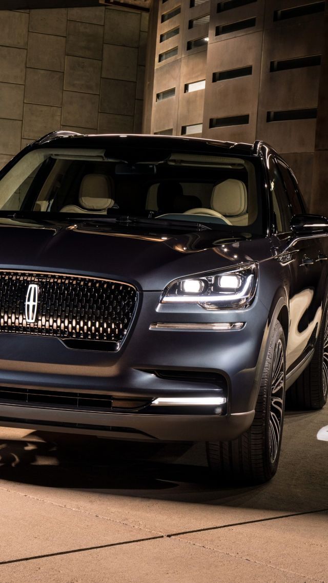 Lincoln Aviator Suv 2019 Cars Electric Car 4k Vertical