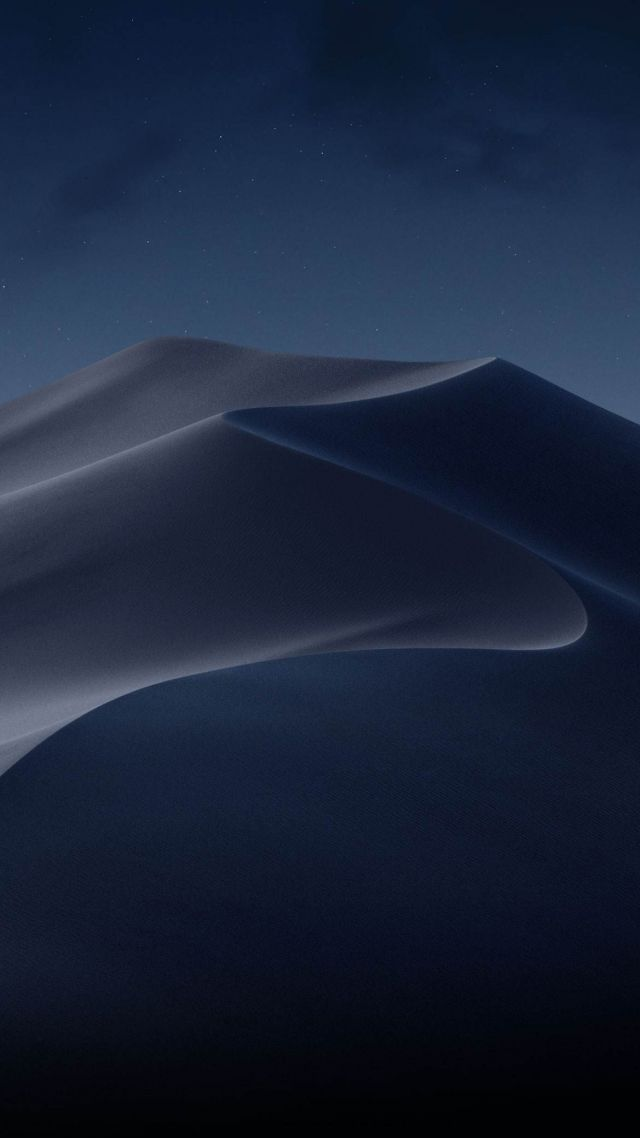 Wallpaper Macos Mojave Night Dunes Wwdc 2018 4k Os 18883
