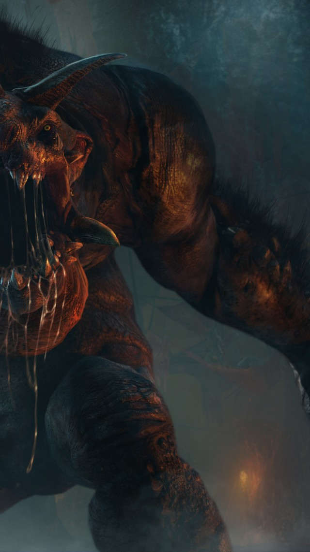 Middle Earth Shadow Of Mordor Iphone Wallpaper