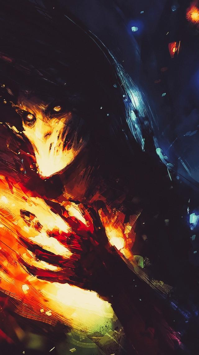 Dark Fire K Vertical