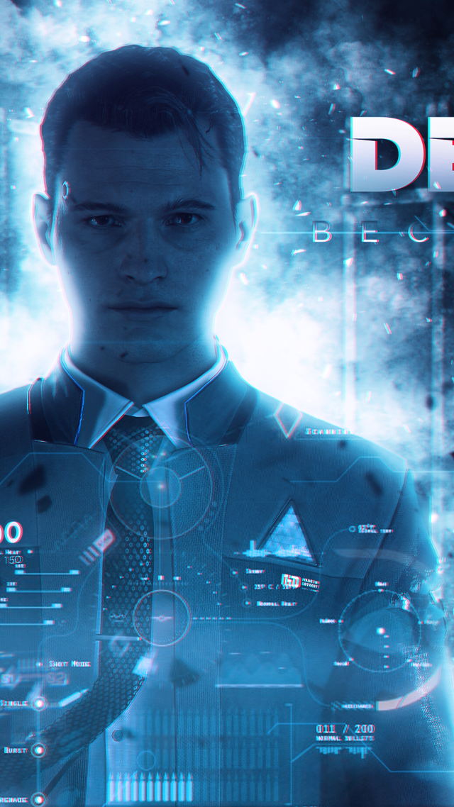 Detroit: Become Human, poster, 4K (vertical)