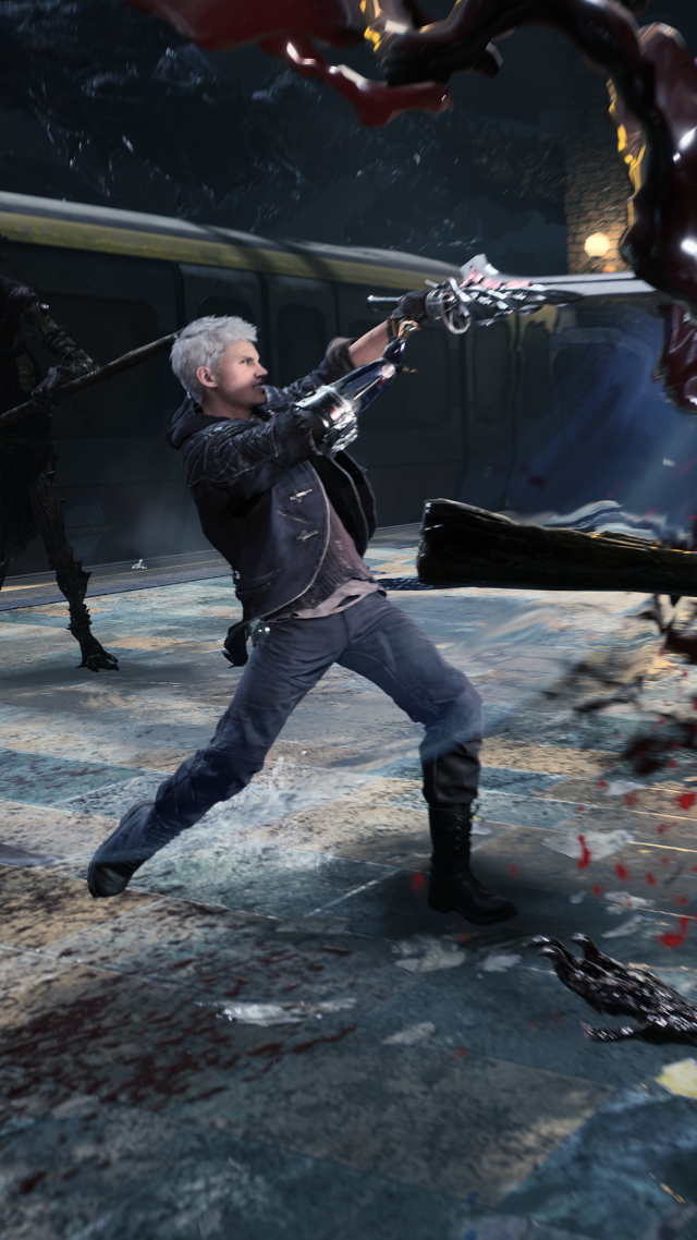 Wallpaper Devil May Cry 5 E3 2018 Screenshot 4k Games