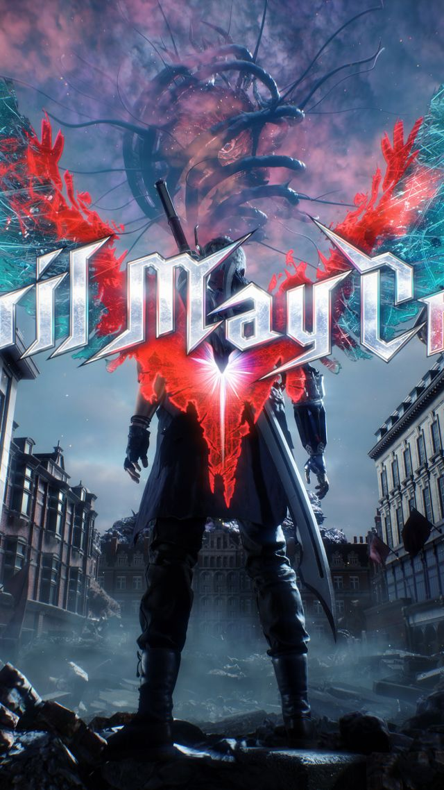 wallpaper devil may cry 5  e3 2018  poster  4k  games  18989