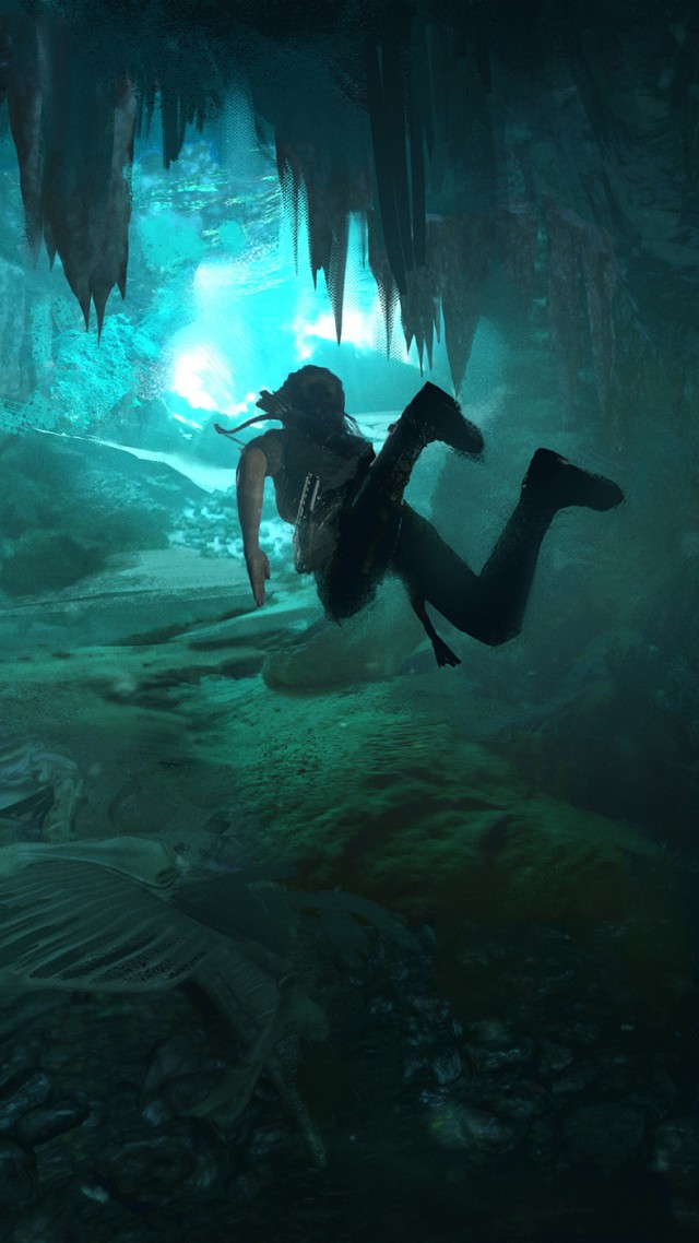 Shadow of the Tomb Raider, E3 2018, Lara Croft, 4k (vertical)